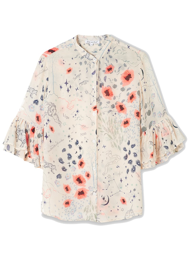 Lily and Lionel Charlie Shirt - Zodiac Ivory main image