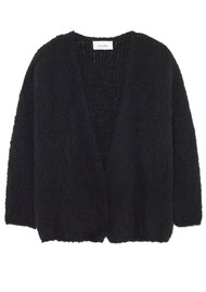 American Vintage Boolder Long Sleeve Cardigan - Black
