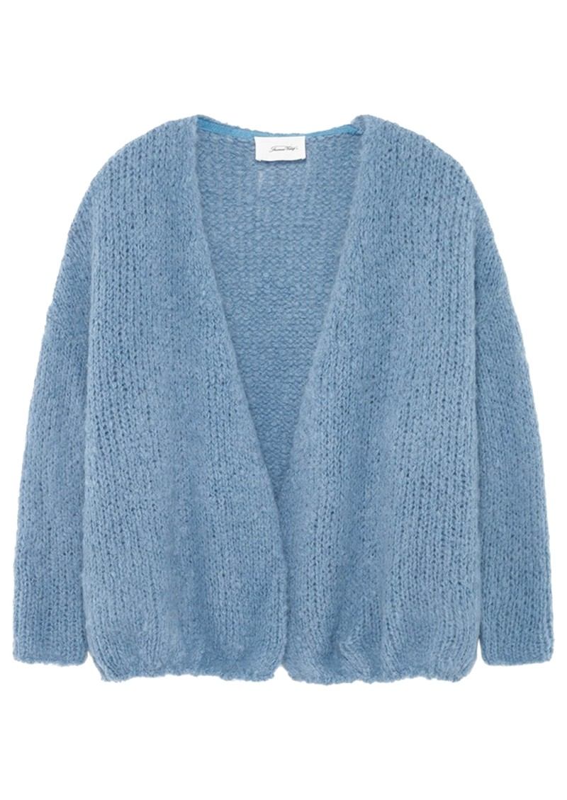Boolder Long Sleeve Cardigan - Sky Blue main image