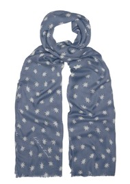 Lily and Lionel Cosmos Scarf - Denim