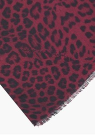 Lily and Lionel Safari Scarf - Burgundy