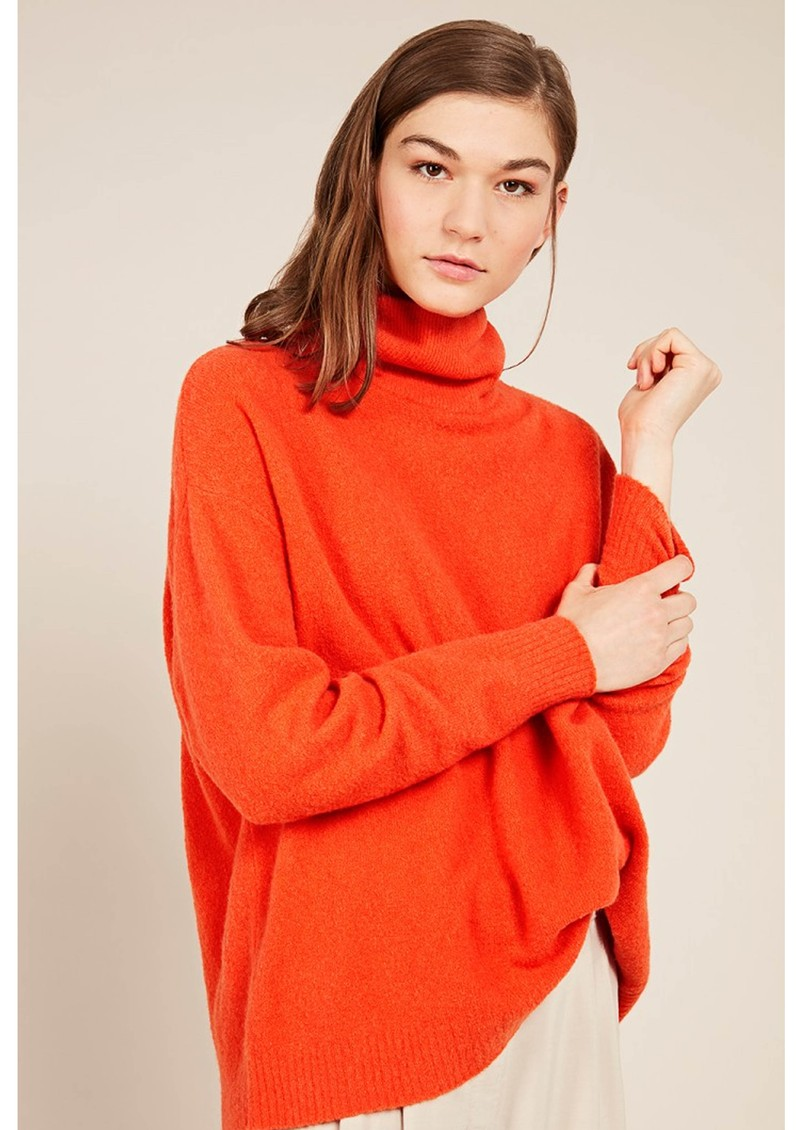 American Vintage Damsville Polo Neck Jumper - Night  main image