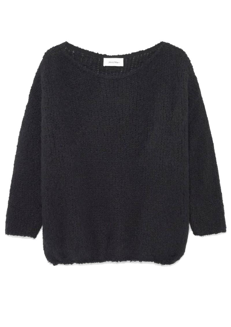 American Vintage Boodler Pullover - Black main image