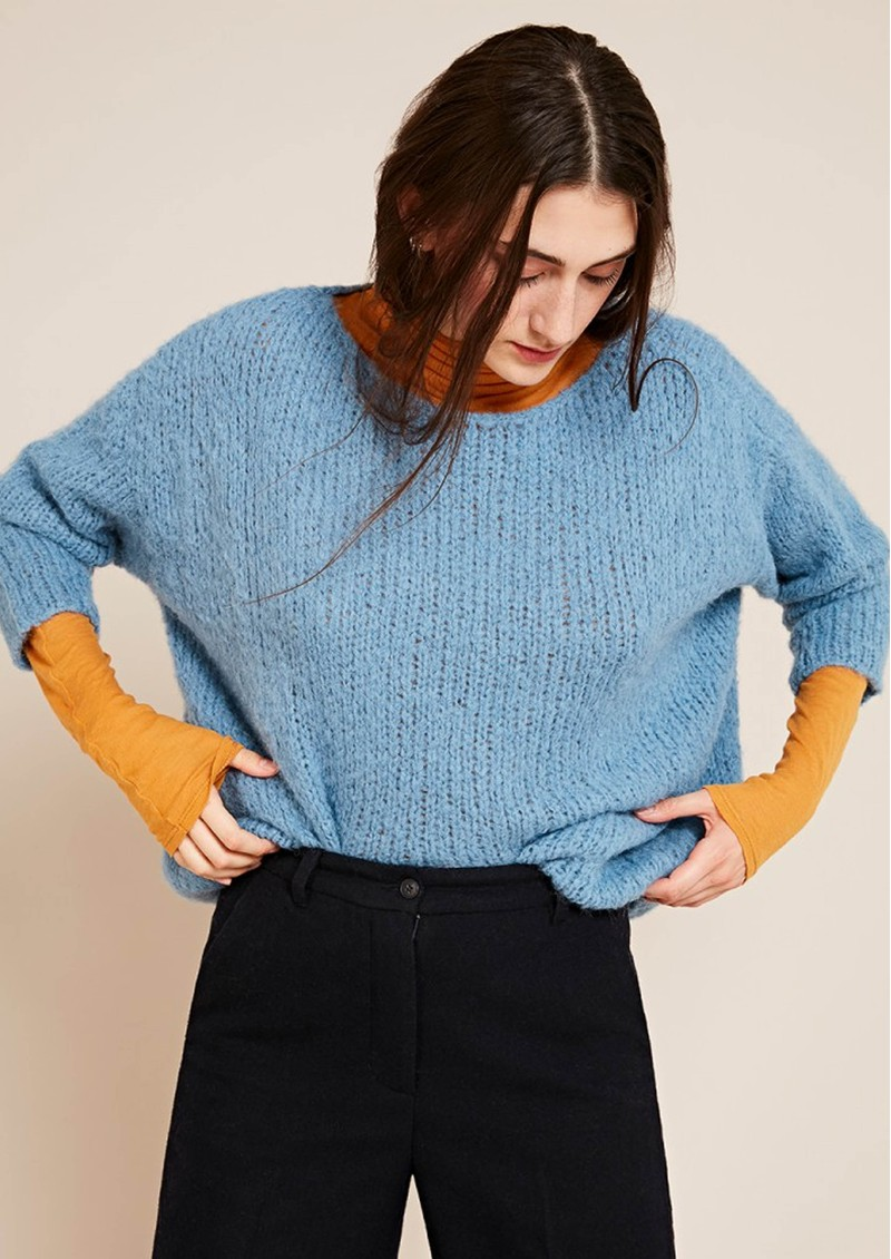 American Vintage Boodler Pullover - Sky Blue main image