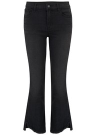 J Brand Selena Mid Rise Cropped Bootcut Jeans - Nevermore