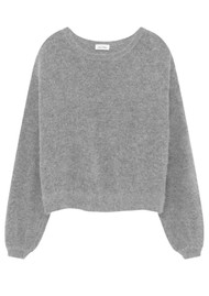 American Vintage Mitibird Jumper - Heather Grey