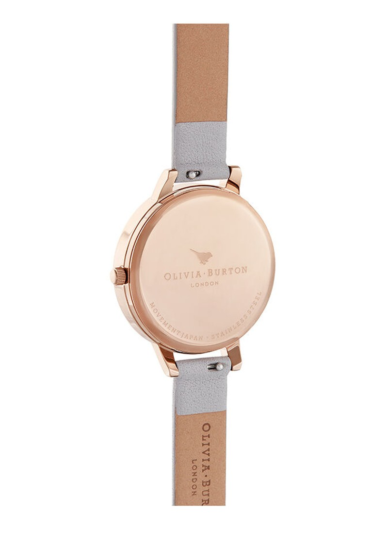 Olivia Burton Abstract Florals Watch - Grey, Lilac & Pale Rose Gold main image