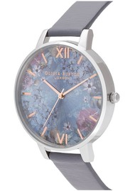 Olivia Burton Under The Sea Big Dial Eco Friendly Watch - Midnight & Silver