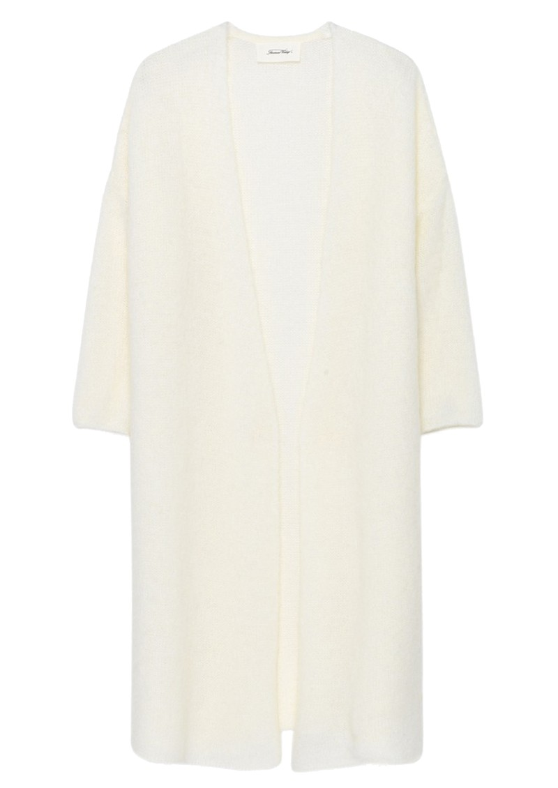 Vapcloud Long Cardigan - White main image
