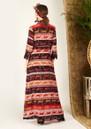 HAYLEY MENZIES Long Silk Shirt Dress - Tigress