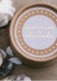 KIRSTIN ASH Bespoke Cowrie Shell Charm - Silver