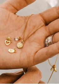 KIRSTIN ASH Bespoke Double Heart Charm - Gold