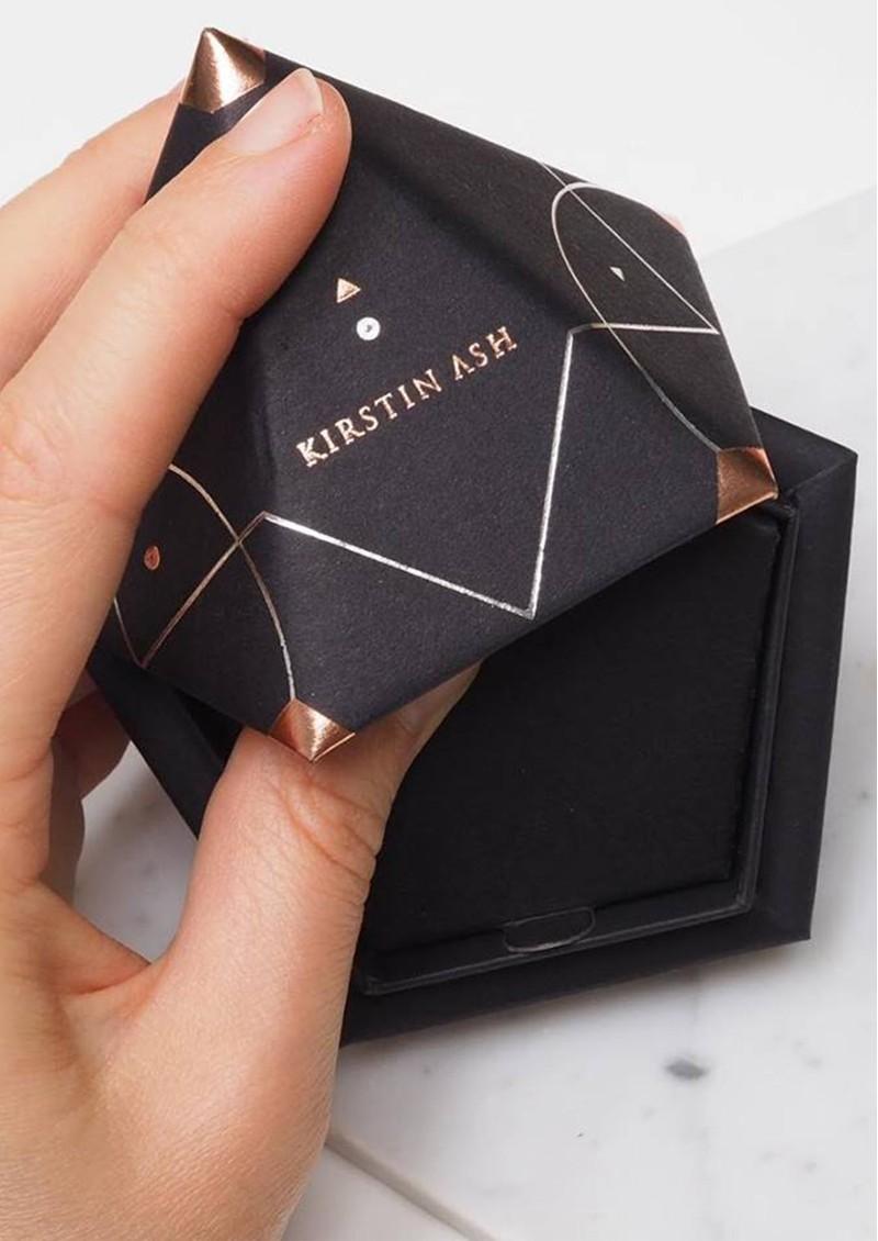 KIRSTIN ASH Bespoke Hamsa Hand Crystal Charm - Gold main image