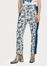 Maison Scotch Side Panel Tapered Trouser - Combo X
