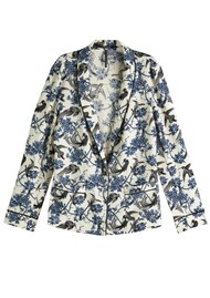 Maison Scotch Printed Pyjama Blazer - Combo X
