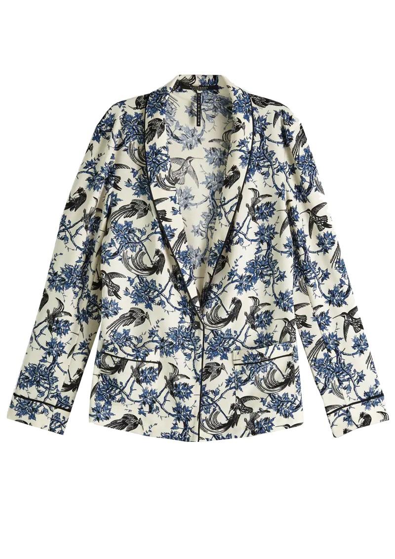 Maison Scotch Printed Pyjama Blazer - Combo X main image