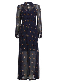 BAUM UND PFERDGARTEN Amber Dress - Midnight Flower