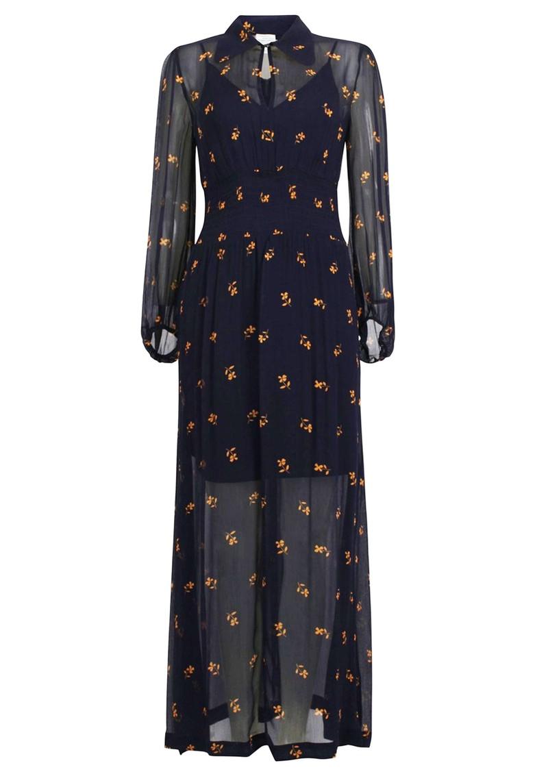 BAUM UND PFERDGARTEN Amber Dress - Midnight Flower main image