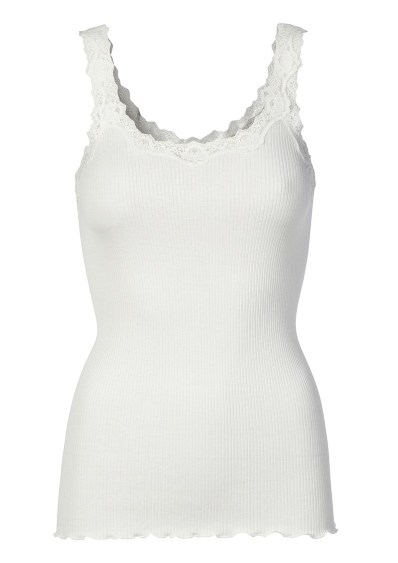 Rosemunde 5357 Lace Tank - New White main image