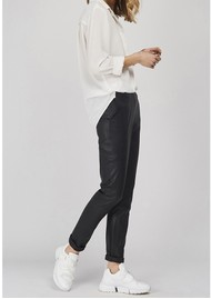 DANTE 6 Lebon Stretch Leather Pants - Raven