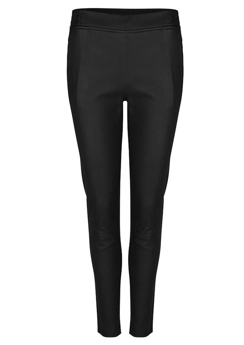 DANTE 6 Lebon Stretch Leather Pants - Raven main image