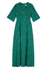 Pyrus Beatrice Silk Maxi Dress - Tiny Animal