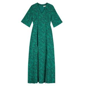 Beatrice Silk Maxi Dress - Tiny Animal