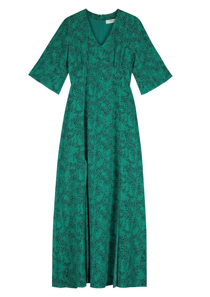 Pyrus Beatrice Silk Maxi Dress - Tiny Animal main image