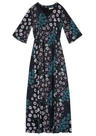 Pyrus Beatrice Silk Maxi Dress - Crazy Daisy