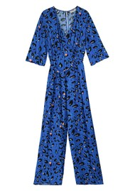 Pyrus Viola Jumpsuit - Blue Animal