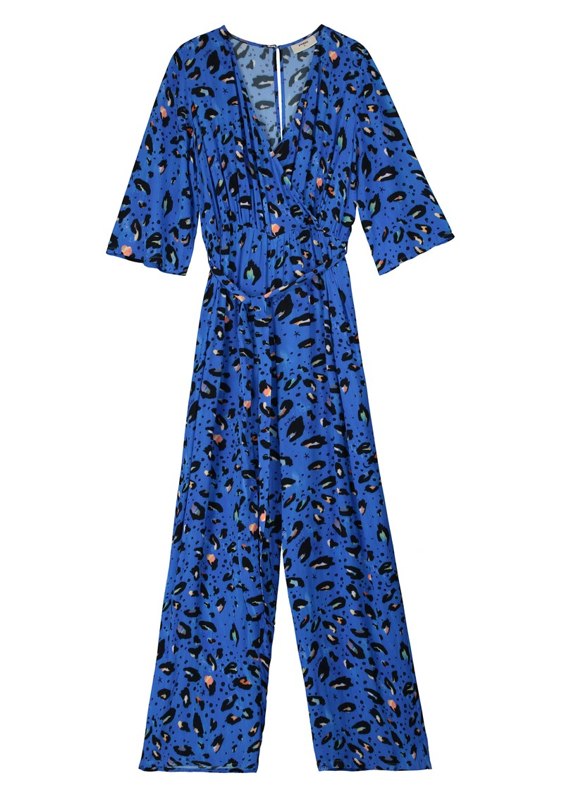 Pyrus Viola Jumpsuit - Blue Animal main image