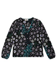 Pyrus Edith Silk Blouse - Crazy Daisy