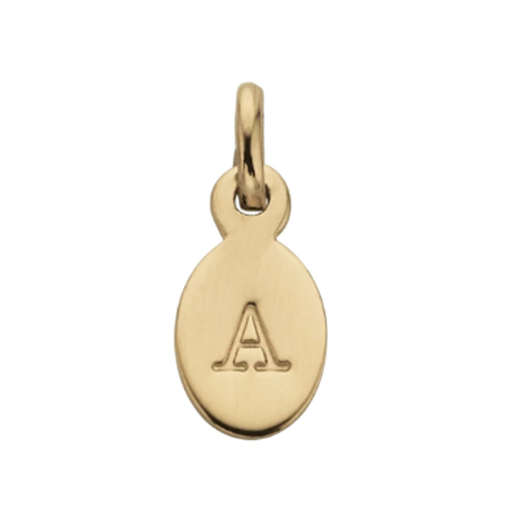 Bespoke Alphabet 'A' Charm - Gold