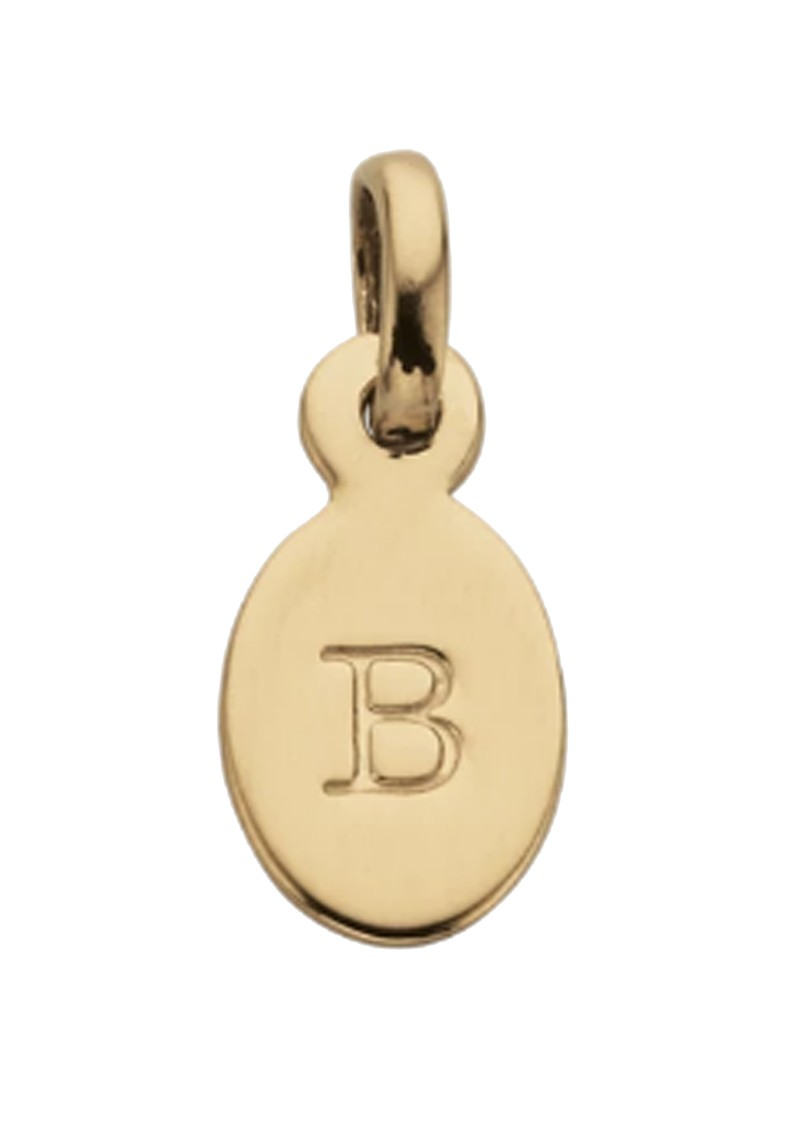 KIRSTIN ASH Bespoke Alphabet 'B' Charm - Gold main image
