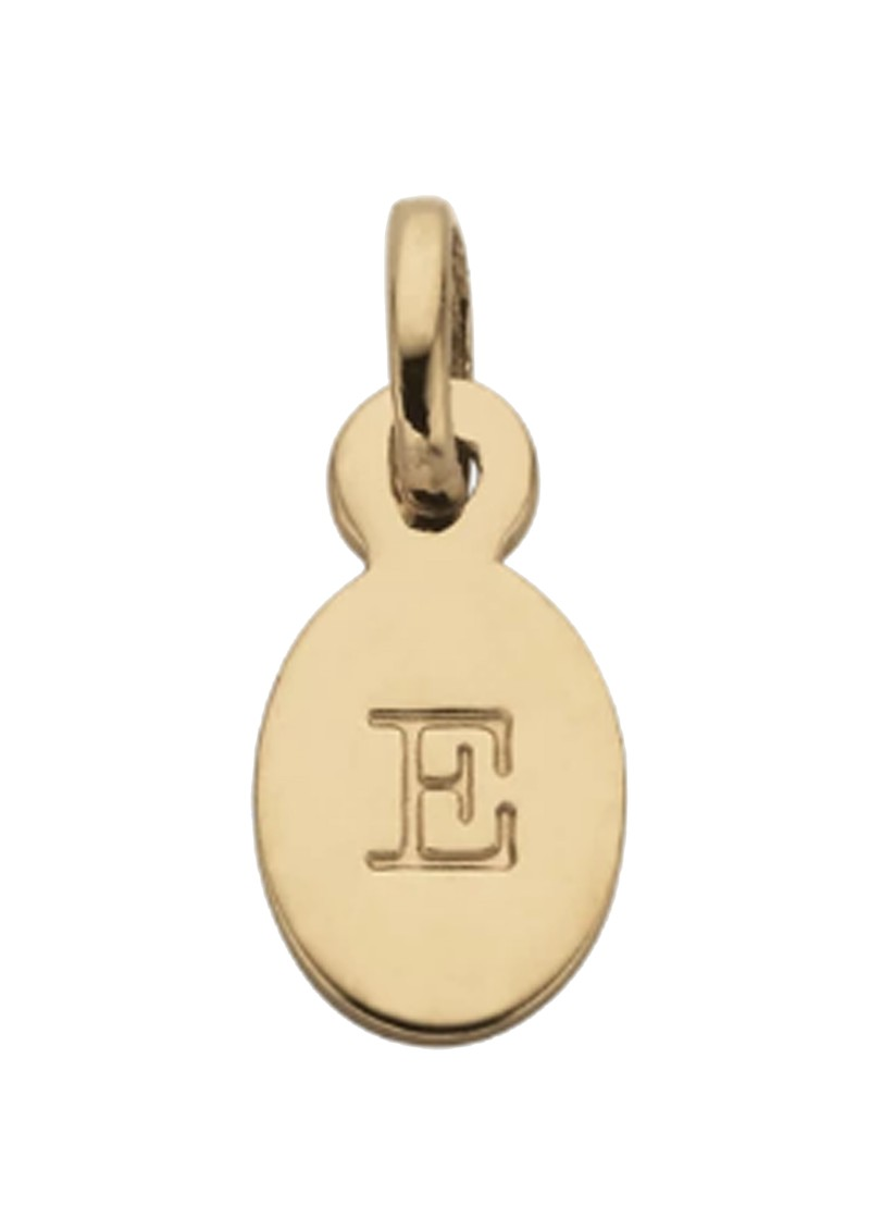 KIRSTIN ASH Bespoke Alphabet 'E' Charm - Gold main image