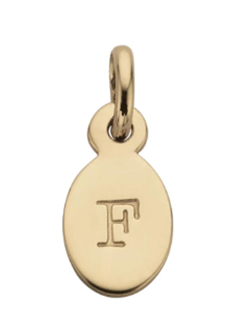 KIRSTIN ASH Bespoke Alphabet 'F' Charm - Gold main image