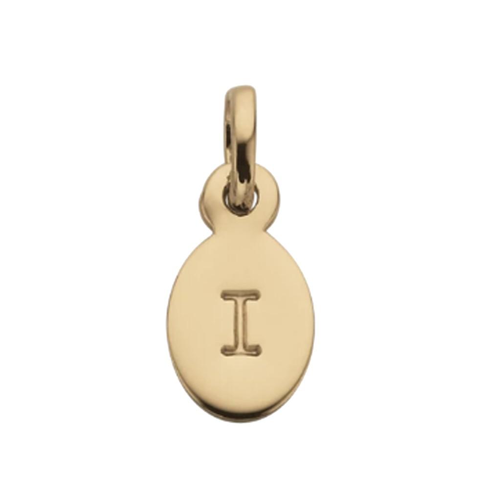 Bespoke Alphabet 'I' Charm - Gold