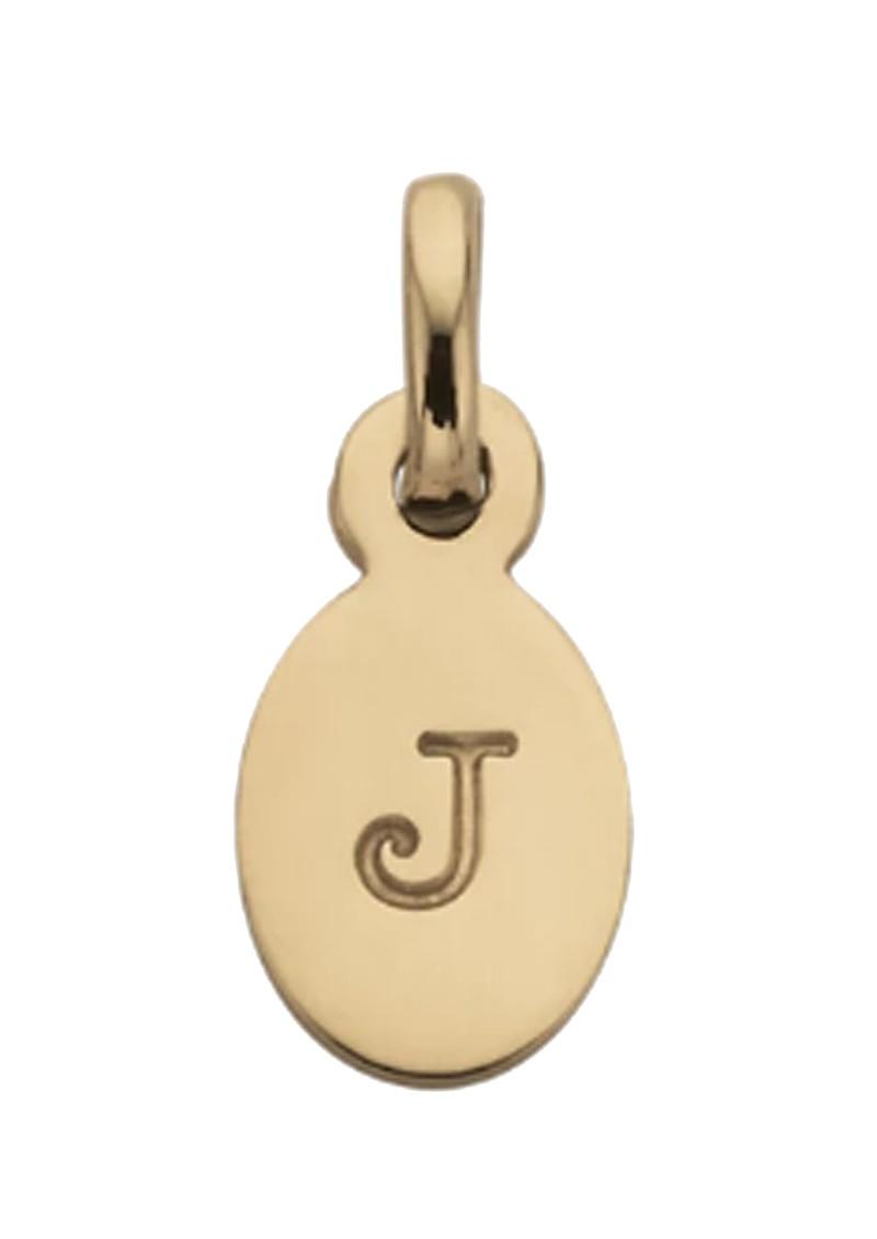 KIRSTIN ASH Bespoke Alphabet 'J' Charm - Gold main image