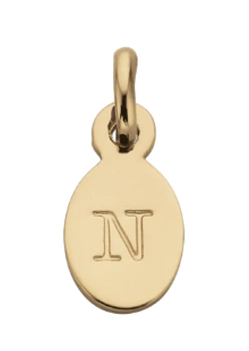 KIRSTIN ASH Bespoke Alphabet 'N' Charm - Gold main image