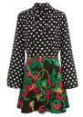 HAYLEY MENZIES Mini Silk Dress - Eden Sweetheart