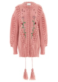 HAYLEY MENZIES Midi Embroidered Cardigan - Gloria Rose