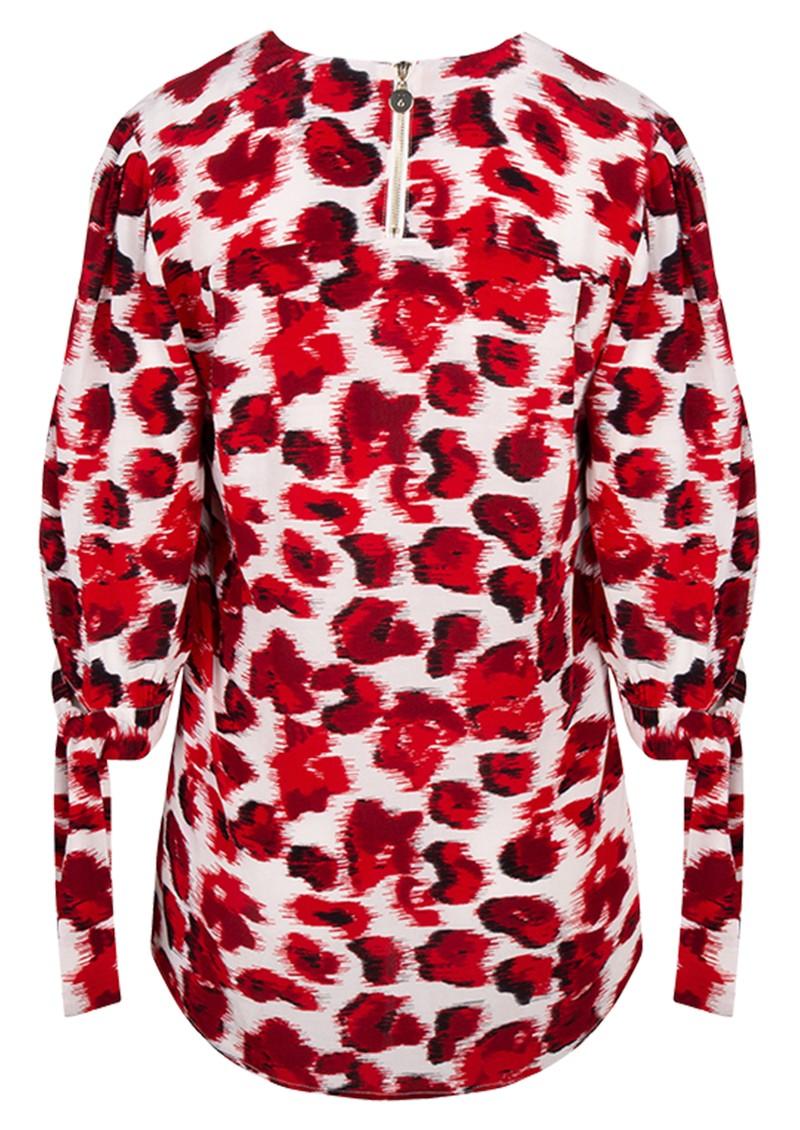 DANTE 6 Ziria Top - Lipstick Red main image