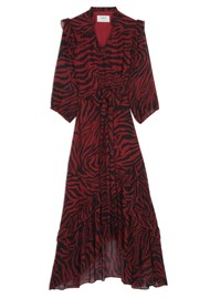 Ba&sh Selena Dress - Crimson