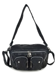 NUNOO Ellie Washed Leather Bag - Black