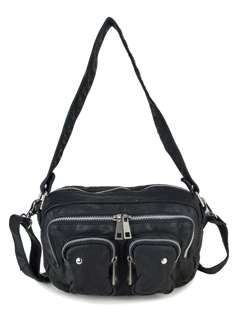 NUNOO Ellie Washed Leather Bag - Black main image