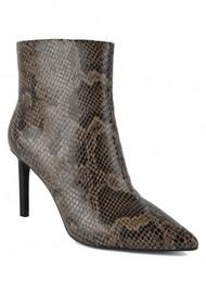Ash Bianca Bis Python Boot - Taupe