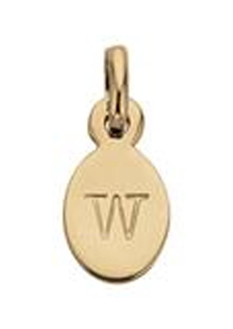 KIRSTIN ASH Bespoke Alphabet 'W' Charm - Gold main image