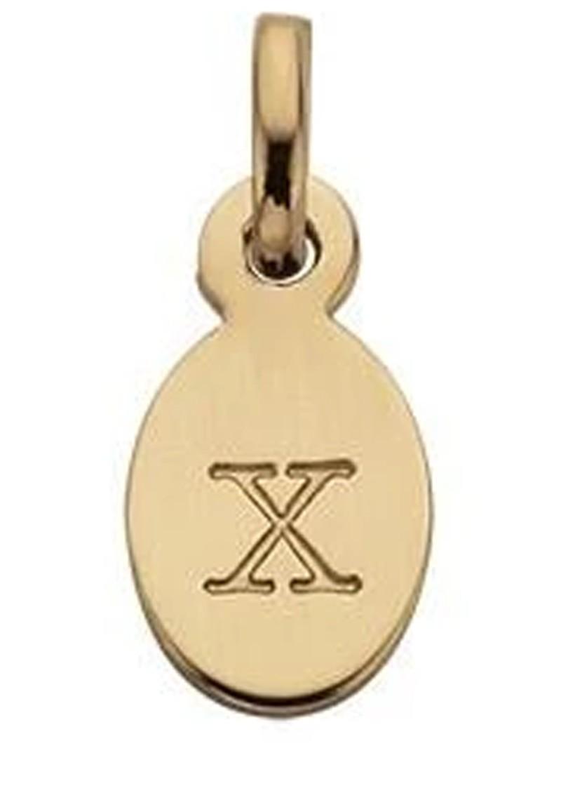 KIRSTIN ASH Bespoke Alphabet 'X' Charm - Gold main image