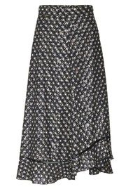 STINE GOYA Marigold Skirt - Black Stars