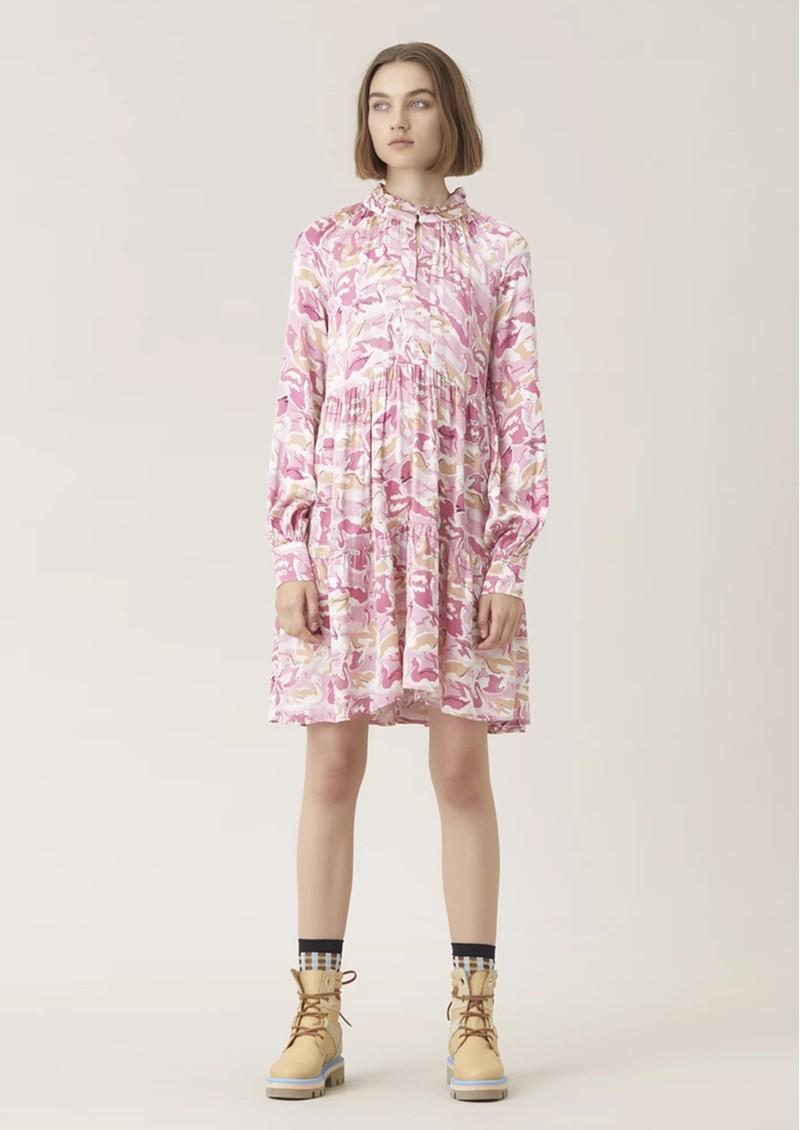 STINE GOYA Jasmine Dress - Swans Rose main image